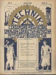 Technik, 1931, R. 4, nr 9