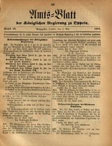 Amts-Blatt der Königlichen Regierung zu Oppeln, 1890, Bd. 75, St. 18
