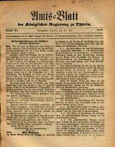 Amts-Blatt der Königlichen Regierung zu Oppeln, 1890, Bd. 75, St. 30