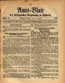 Amts-Blatt der Königlichen Regierung zu Oppeln, 1890, Bd. 75, St. 44