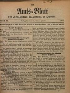 Amts-Blatt der Königlichen Regierung zu Oppeln, 1891, Bd. 76, St. 41