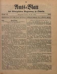 Amts-Blatt der Königlichen Regierung zu Oppeln, 1892, Bd. 77, St. 13