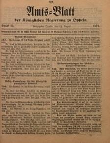 Amts-Blatt der Königlichen Regierung zu Oppeln, 1892, Bd. 77, St. 33