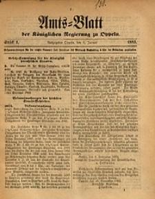 Amts-Blatt der Königlichen Regierung zu Oppeln, 1893, Bd. 78, St. 1