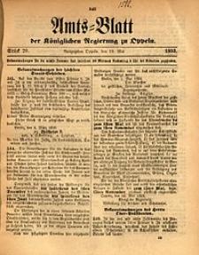 Amts-Blatt der Königlichen Regierung zu Oppeln, 1893, Bd. 78, St. 20
