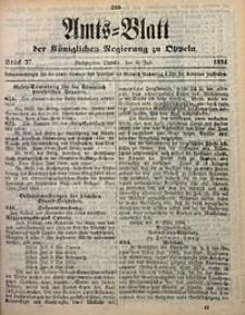 Amts-Blatt der Königlichen Regierung zu Oppeln, 1894, Bd. 79, St. 27