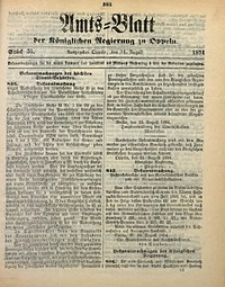 Amts-Blatt der Königlichen Regierung zu Oppeln, 1894, Bd. 79, St. 35