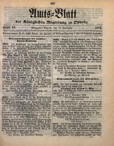 Amts-Blatt der Königlichen Regierung zu Oppeln, 1894, Bd. 79, St. 46