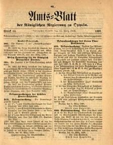 Amts-Blatt der Königlichen Regierung zu Oppeln, 1896, Bd. 81, St. 13