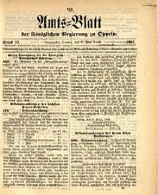 Amts-Blatt der Königlichen Regierung zu Oppeln, 1896, Bd. 81, St. 23