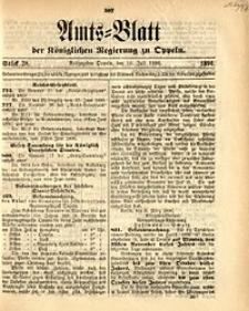 Amts-Blatt der Königlichen Regierung zu Oppeln, 1896, Bd. 81, St. 28