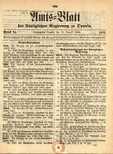 Amts-Blatt der Königlichen Regierung zu Oppeln, 1896, Bd. 81, St. 34