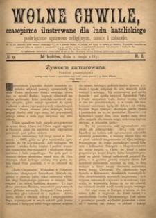Wolne Chwile, 1887, R. 1, nr 9