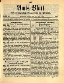 Amts-Blatt der Königlichen Regierung zu Oppeln, 1897, Bd. 82, St. 30