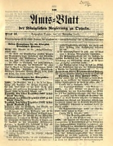 Amts-Blatt der Königlichen Regierung zu Oppeln, 1897, Bd. 82, St. 46