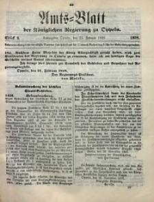 Amts-Blatt der Königlichen Regierung zu Oppeln, 1898, Bd. 83, St. 8