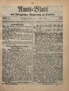 Amts-Blatt der Königlichen Regierung zu Oppeln, 1898, Bd. 83, St. 11