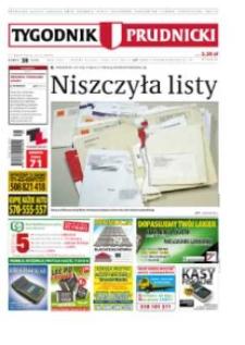 Tygodnik Prudnicki : prywatna gazeta lokalna gmin : Prudnik, Biała, Głogówek, Korfantów, Lubrza, Strzeleczki, Walce. R. 24, nr 38 (1238).