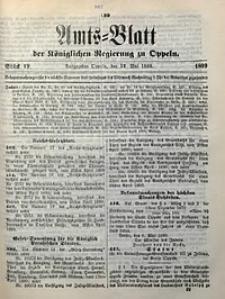 Amts-Blatt der Königlichen Regierung zu Oppeln, 1899, Bd. 84, St. 19