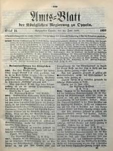 Amts-Blatt der Königlichen Regierung zu Oppeln, 1899, Bd. 84, St. 24