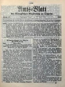 Amts-Blatt der Königlichen Regierung zu Oppeln, 1899, Bd. 84, St. 25