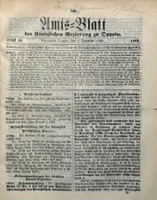 Amts-Blatt der Königlichen Regierung zu Oppeln, 1899, Bd. 84, St. 48