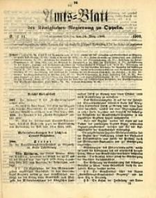 Amts-Blatt der Königlichen Regierung zu Oppeln, 1900, Bd. 85, St. 11