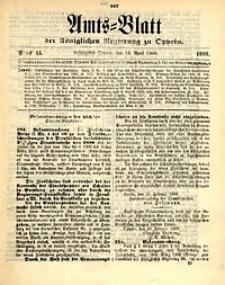 Amts-Blatt der Königlichen Regierung zu Oppeln, 1900, Bd. 85, St. 15