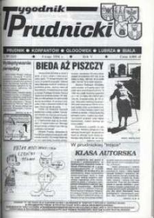Tygodnik Prudnicki : Prudnik, Korfantów, Głogówek, Lubrza, Biała. R. 5, nr 19 (183).