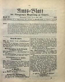 Amts-Blatt der Königlichen Regierung zu Oppeln, 1901, Bd. 86, St. 18