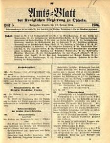 Amts-Blatt der Königlichen Regierung zu Oppeln, 1904, Bd. 89, St. 5