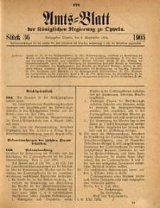 Amts-Blatt der Königlichen Regierung zu Oppeln, 1905, Bd. 90, St. 36