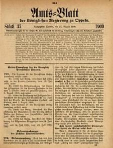 Amts-Blatt der Königlichen Regierung zu Oppeln, 1909, Bd. 93, St. 35