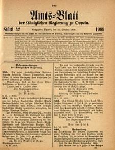 Amts-Blatt der Königlichen Regierung zu Oppeln, 1909, Bd. 93, St. 42