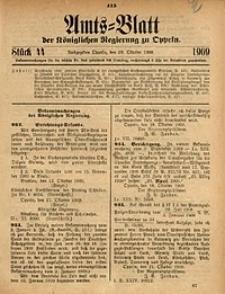 Amts-Blatt der Königlichen Regierung zu Oppeln, 1909, Bd. 93, St. 44