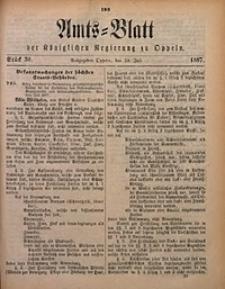 Amts-Blatt der Königlichen Regierung zu Oppeln, 1887, Bd. 72, St. 30