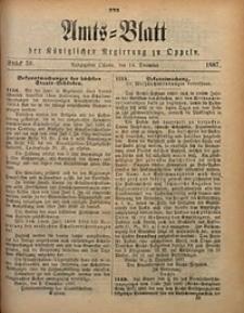 Amts-Blatt der Königlichen Regierung zu Oppeln, 1887, Bd. 72, St. 50