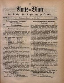 Amts-Blatt der Königlichen Regierung zu Oppeln, 1883, Bd. 68, St. 15