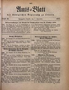 Amts-Blatt der Königlichen Regierung zu Oppeln, 1883, Bd. 68, St. 36