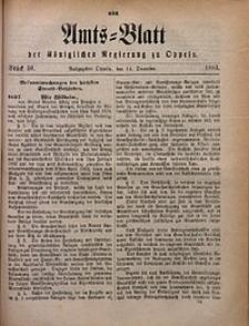 Amts-Blatt der Königlichen Regierung zu Oppeln, 1883, Bd. 68, St. 50