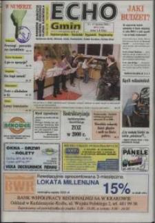 Echo Gmin : kędzierzyńsko-kozielski tygodnik regionalny 2000, nr 2 (123).