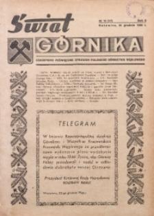 Świat Górnika, 1946, R. 2, nr 12