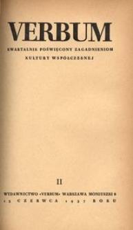 Verbum, 1937, z. 2