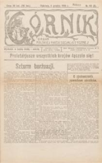 Górnik. Organ Polskiej Partji Socjalistycznej, 1918, nr 60