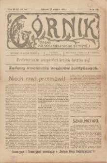 Górnik. Organ Polskiej Partji Socjalistycznej, 1919, nr 41