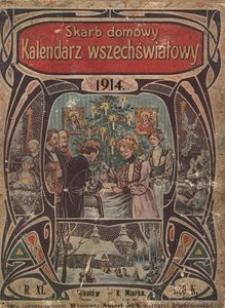 Skarb domowy. Kalendarz na rok 1914. R. 11