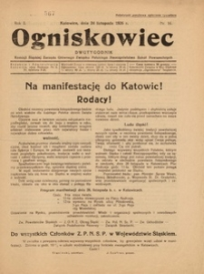 Ogniskowiec, 1926, R. 2, nr 16