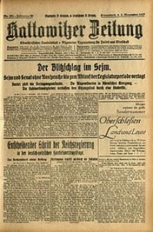Kattowitzer Zeitung, 1927, Jg. 59, nr 254