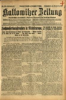 Kattowitzer Zeitung, 1927, Jg. 59, nr 260