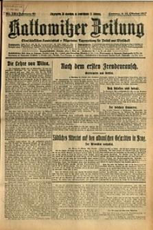 Kattowitzer Zeitung, 1927, Jg. 59, nr 238